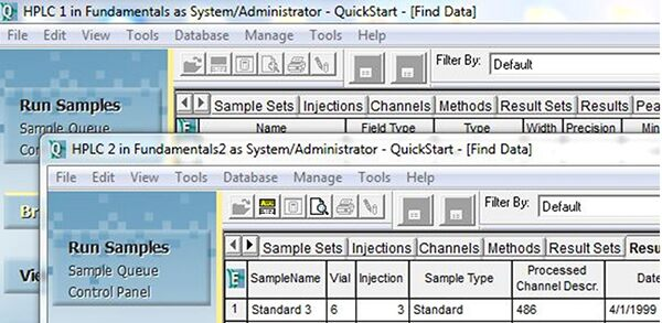 Empower QuickStart Interface | Working with Multiple Projects and Systems |  Figure 3