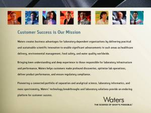 Waters Mission Statement