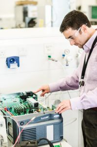 Inside the Waters ACQUITY QDa mass detector