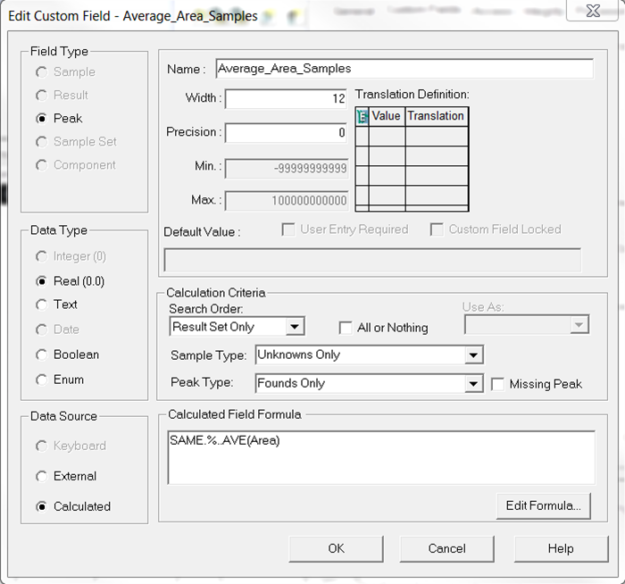 Empower Tips: Intersample Calculation | Figure 3